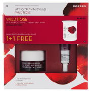 Korres Wild Rose 1+1 Brightening Collection (Worth £18)