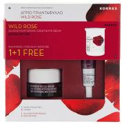 Korres Wild Rose 1+1 Brightening Collection (Worth £18)