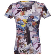 Paul by Paul Smith Women's Scrapbook T-Shirt - Multi