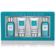 Baylis & Harding Men's Citrus Lime and Mint 4 Piece Gift Set