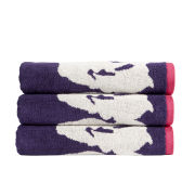Kingsley Bloom Towels - Amethyst