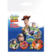 Toy Story Characters - Badge Pack