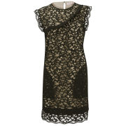 See by Chloe Women's Black Lace Dress - Black