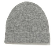 Samsoe & Samsoe Women's Banks Wool Beanie Hat - Light Grey