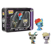 My Little Pony Pocket Mini Pop! Vinyl Figure 3 Pack Tin