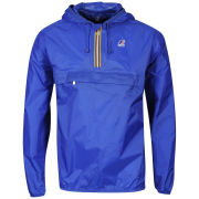K - Way Men's Leon Half Zip Jacket - Royal