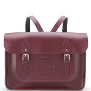 Cambridge Satchel Company 14 Inch Leather Satchel Backpack - Oxblood