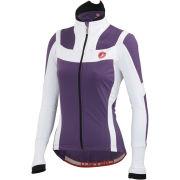 Castelli Women's Elemento 7xAir Jacket - Violet/White