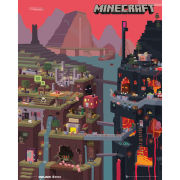 Minecraft World - Mini Poster - 40 x 50cm