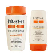 Kerastase Nutritive Bain Nutri-Thermique 250ml and Nutritive Nectar Thermique 150ml Bundle
