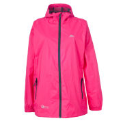 Trespass Women's Qikpac Jacket - Pink/Flint