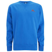 Money Men's Sig Ape Combo Crew Sweatshirt - Vintage Blue