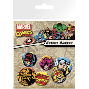 Marvel Superheroes - Badge Pack