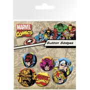 Marvel Superheroes - Badge Pack