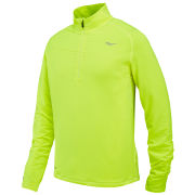 Saucony Men's Run Strong Half Zip Running Top - Green
