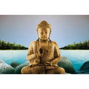 Zen Buddha Lake - Maxi Poster - 61 x 91.5cm