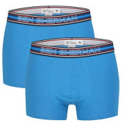 Ben Sherman Men's 2-Pack Boxers - Blue, Navy and Red Stripe