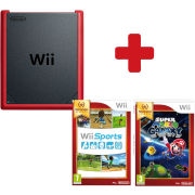 Wii mini + Super Mario Galaxy + Wii Sports