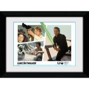 Star Wars Luke Skywalker Montage - 30 x 40cm Collector Prints