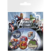 The Avengers Characters - Badge Pack