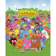 Moshi Monsters Portrait - Mini Poster - 40 x 50cm