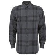 Belstaff Men's Everett Checked Shirt - Grey Melange