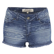 Brave Soul Women's Jolene Shorts - Blue