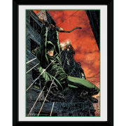 DC Comics Arrow Fire - 8x6 Framed Photographic