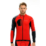 LOOK Men's Ultra Long Sleeve Jersey - Red/Grey