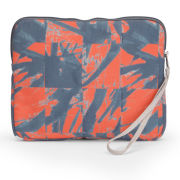 Kate Sheridan Printed iPad Case/Clutch Bag  - Orange
