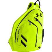 Under Armour Unisex Compel Sling Bag - High-Vis Yellow/Black