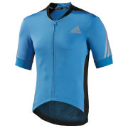 adidas Supernova Short Sleeve Jersey - Solar Blue/Black