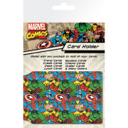Marvel Pattern - Card Holder