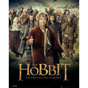 The Hobbit Dwarves - Mini Poster - 40 x 50cm