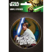 Star Wars Luke - Vinyl Sticker - 10 x 15cm