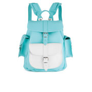Grafea Exclusive Oceana Medium Leather Rucksack - Light Blue