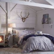 Stag Bedding Set - Navy