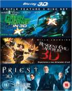 The Green Hornet 3D / Priest 3D / Resident Evil: Afterlife 3D