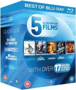Blu-Ray Starter Pack: Gladiator / Bourne Ultimatum / Wanted / Fast and the Furious / Mummy: Tomb of Dragon Emperor