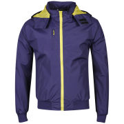 Soul Star Men's Sonic Plain Jacket - Purple