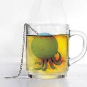Mustard Octeapus Tea Infuser