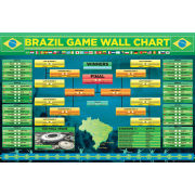 World Cup Wallchart 2014 Maxi Poster (61 x 91.5cm)