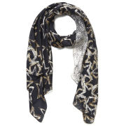 Jimmy Choo Women's Star Print Scarf - Brown