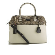 Paul's Boutique Maisy Bowler Bag - Studded Snake