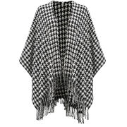 Impulse Women's Dogtooth Wrap - Black/White