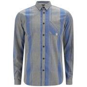 Jack & Jones Men's Walter Checked Shirt - Grey Melange