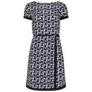 Orla Kiely Women's Buckle Dress - Indigo - 12 UK 12Indigo