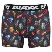 WAXX Men's Robots Boxers - Black