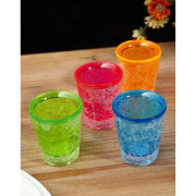 Mixology Gel Shot Glasses - Set of 4
