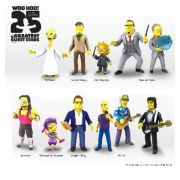 Simpsons 25th Anniversary Series 3 - Bret Hart Action Figure